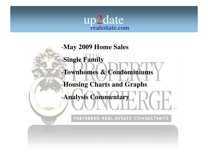 Pasadena Homes May 09 Sales Report