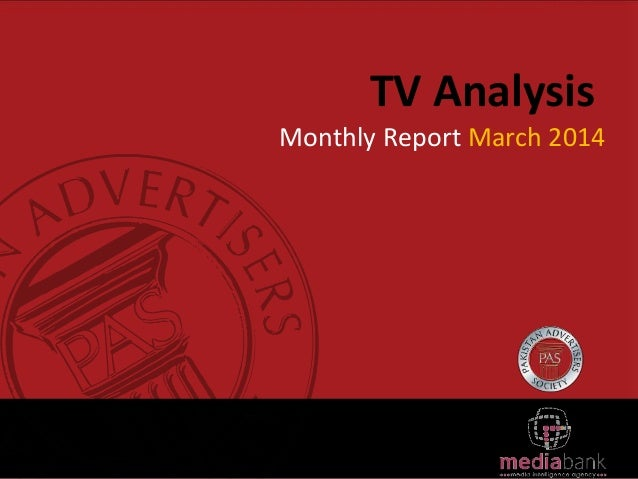 TV Analysis Monthly Report March 2014