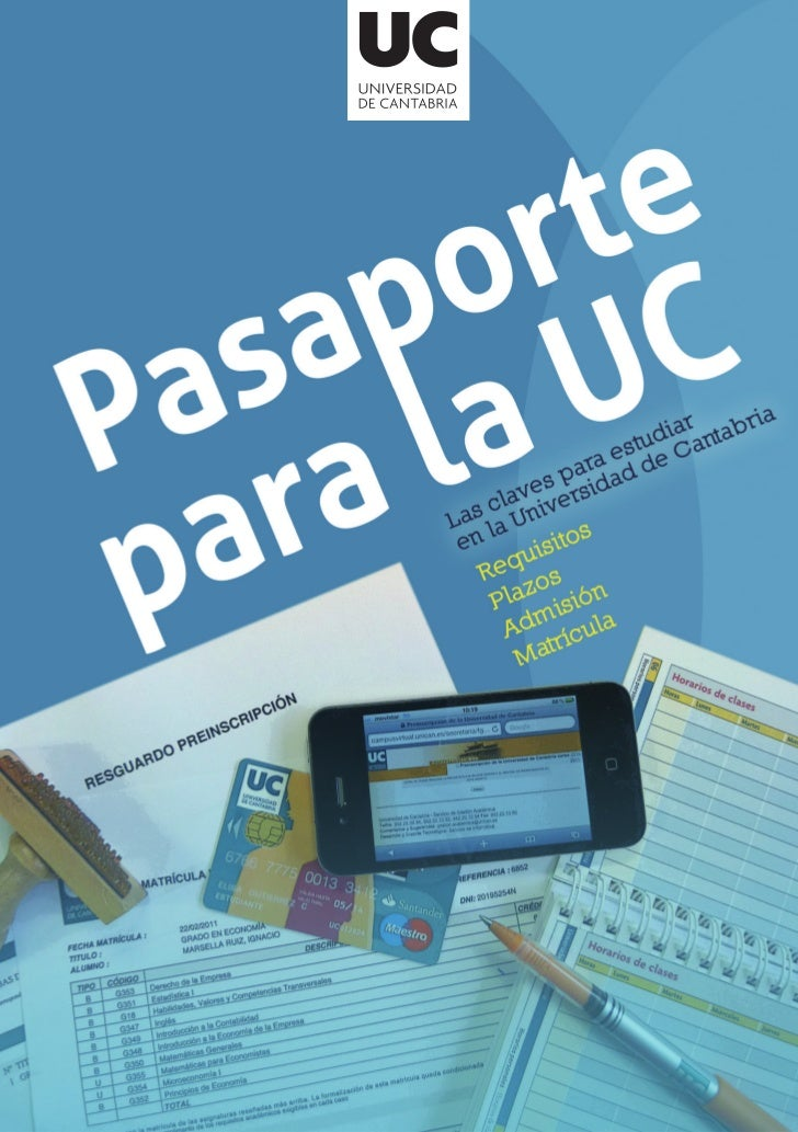 Pasaporte para la UC   [1]