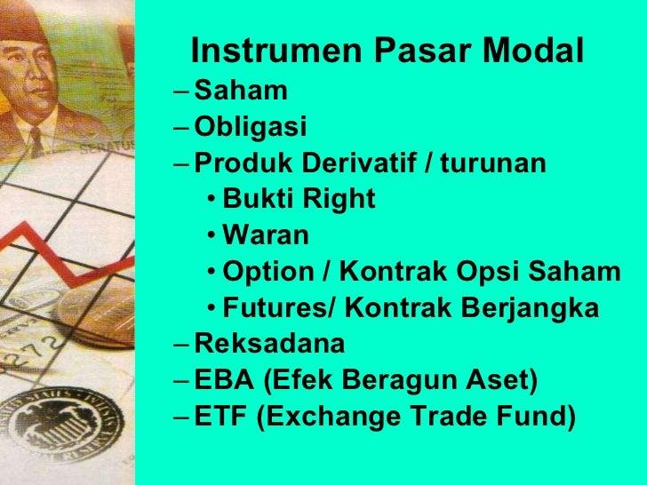 Opsi mentor pasar saham