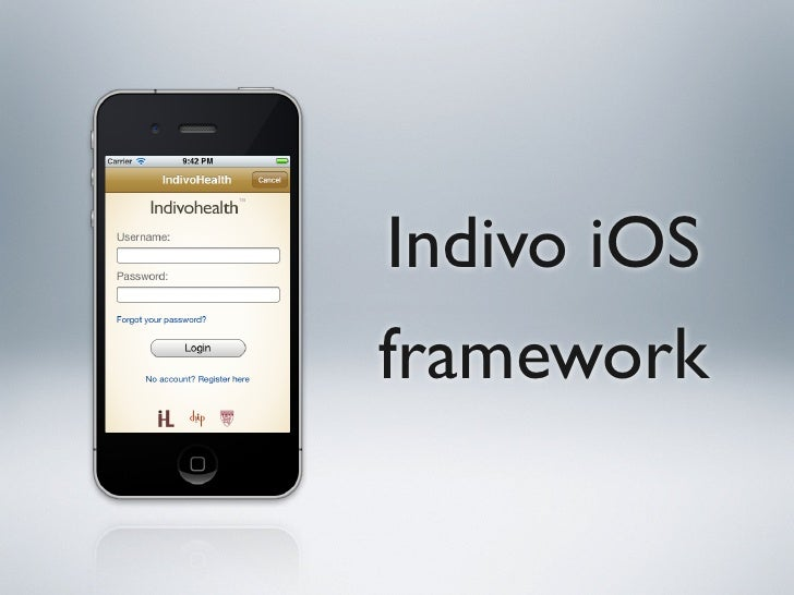 Indivo iOSframework