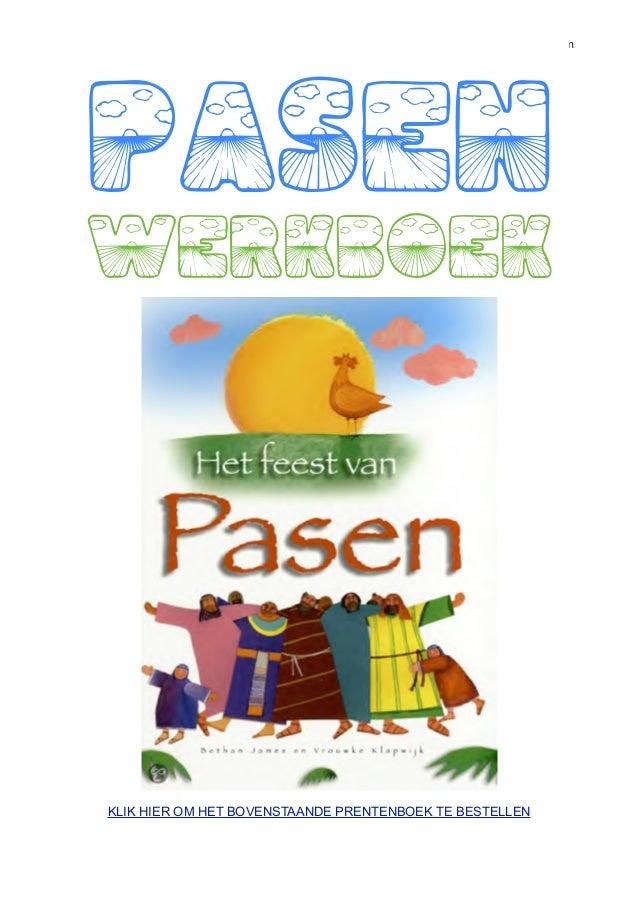 Werkboek Pasen kinderbijbel, werkbladen over Stille Week, kruisiging, opstanding paashaas en paaseieren    PASEN    werkbo...