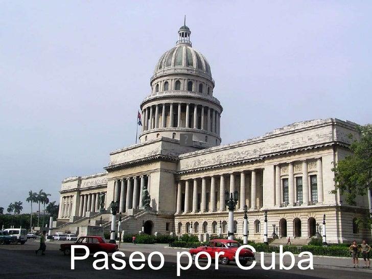 Paseo por Cuba