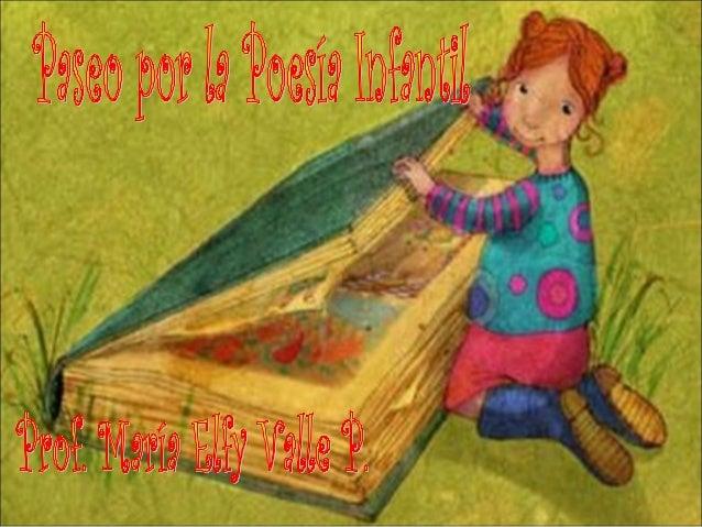 Paseo por la poesía infantil