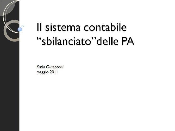 """Il sistema contabile """"sbilanciato"""" della PA. Parte 3: Rischi informativi e ruolo dello studioso"""