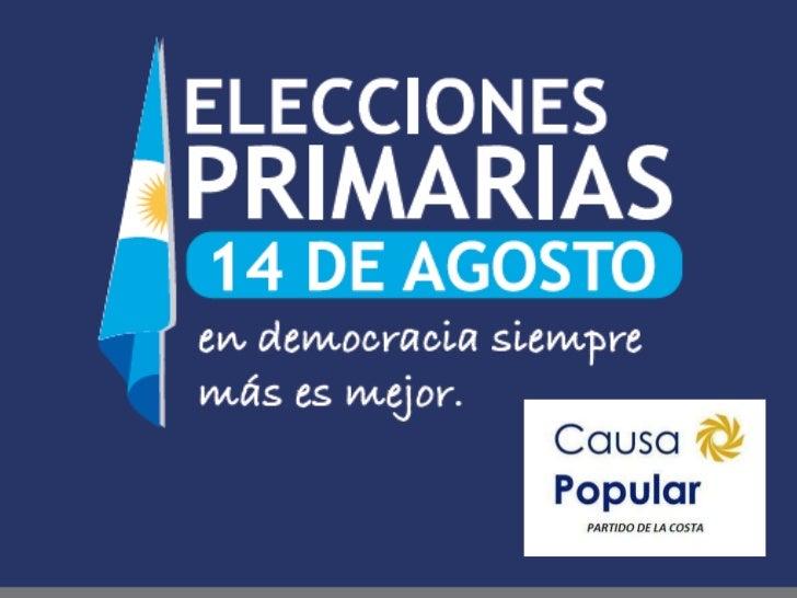 PRIMARIAS ABIERTAS OBLIGATORIAS Y SIMULTANEAS (PASO) 14 DE AGOSTO DE 2011