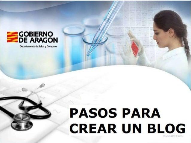 Blogs. Cómo crear un blogA través de herramientas gratuitas de creación de blogs. Existendos tipos:• Herramientas on-line ...