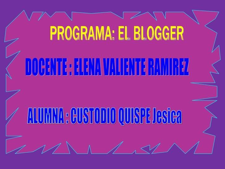 ¿Qué Es Un Blog?  Un blog, (también se conocen como  weblog o bitácora), es un sitio web que  recopila cronológicamente t...