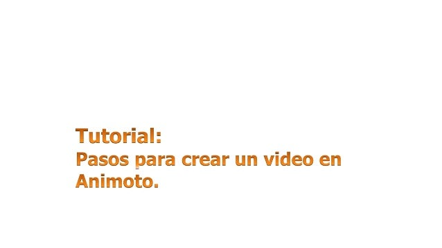 Tipeamos: https://animoto.com/trial