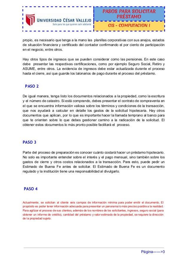 Simulador de creditos bancarios blog - Pedir un prestamo hipotecario ...