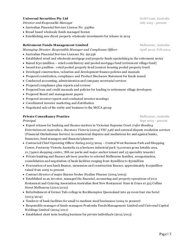 Australian Resume Writing Help