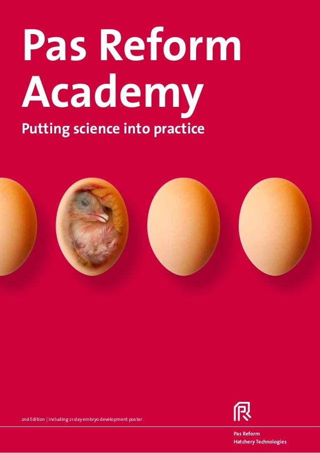 Pas ReformAcademyPutting science into practice2nd Edition | Including 21 day embryo development poster                    ...