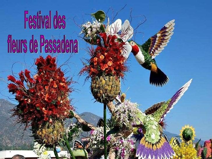 Festival des  fleurs de Passadena
