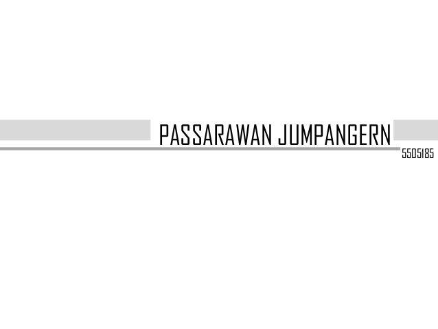 Passarawan jumpangern 5505185