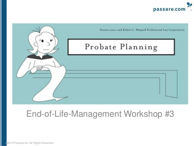 Probate Planning