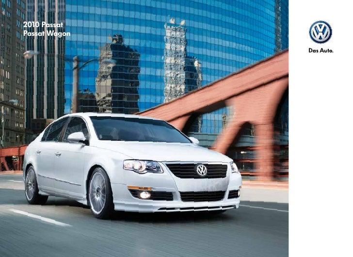 Did you know that a Volkswagen was named the 2009 World Car of the Year?* Or that Volkswagen has ESP® standard on all2010 ...