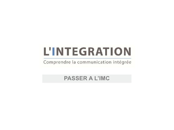 PASSER A L'IMC
