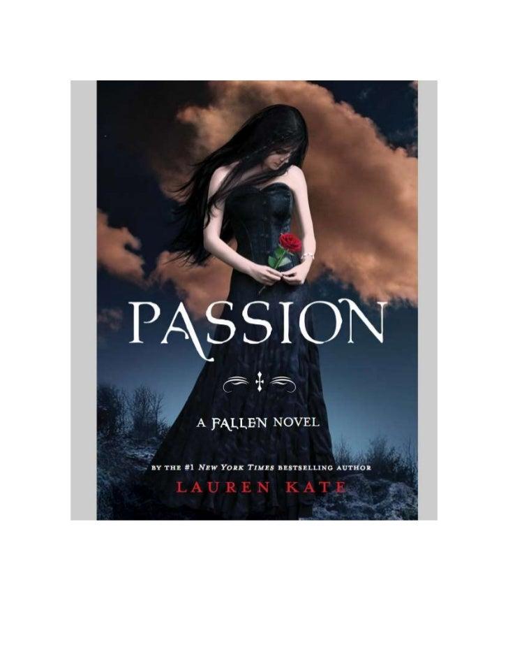 Passion de Lauren Kate.