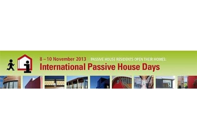 Passiv days 2013