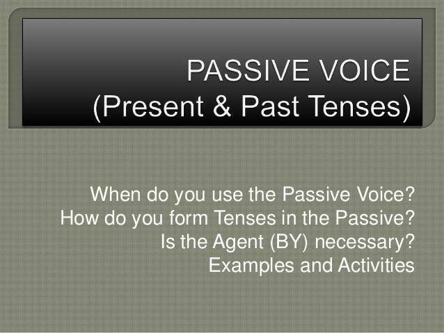 Passive elementary-4 eso