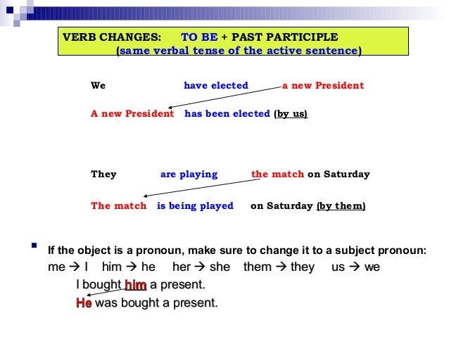 english grammar the passive voice pdf