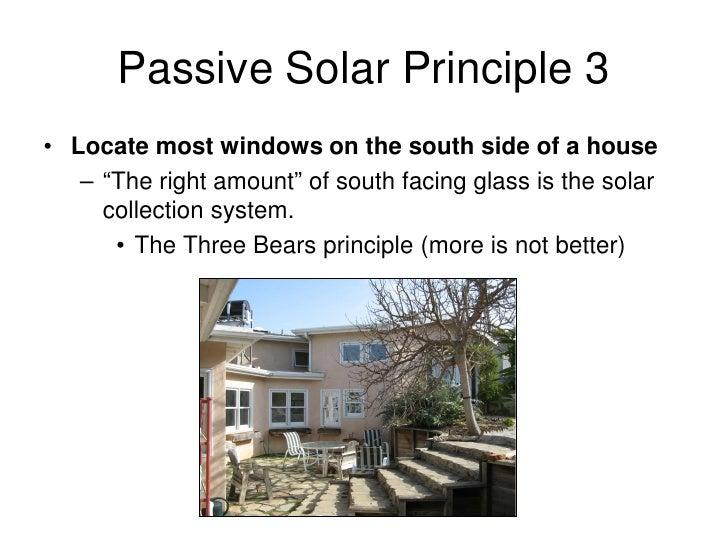 Passive Solar Design Presentation