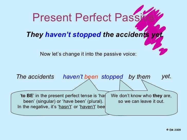 Exercise on Passive Voice - Present Perfect | Passive Voice