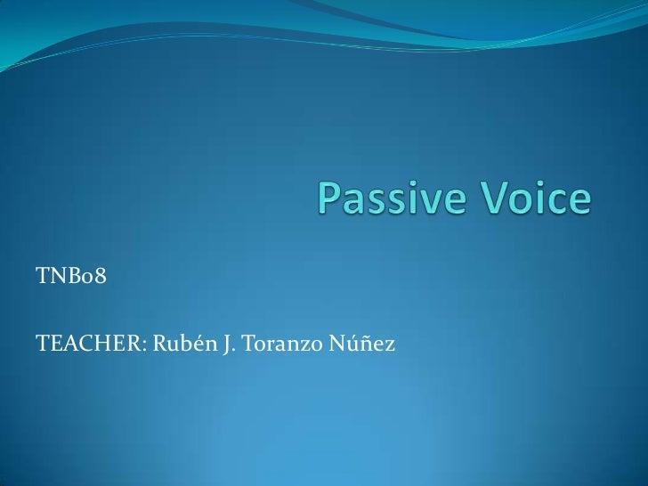 TNB08TEACHER: Rubén J. Toranzo Núñez