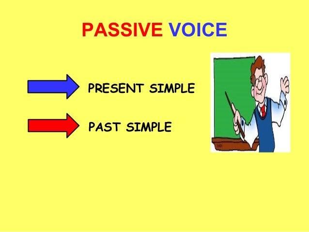PASSIVE VOICEPRESENT SIMPLEPAST SIMPLE