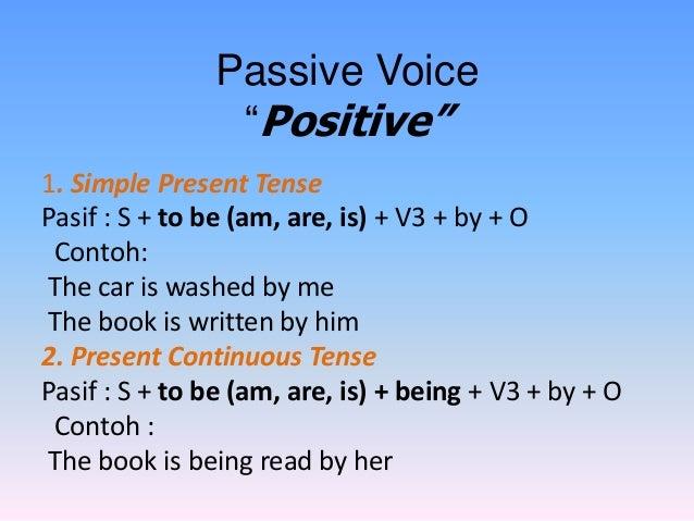Simple Present Tense Formula Simple Present Tense Pasif s