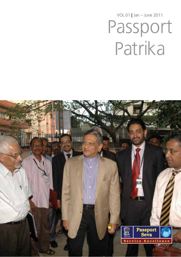 VOL 01 | Jan – June 2011  Passport Patrika