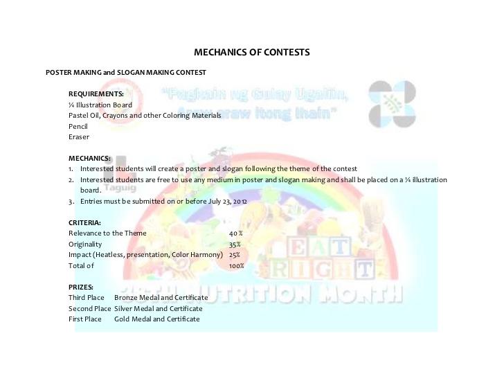 nutrition month celebration essay