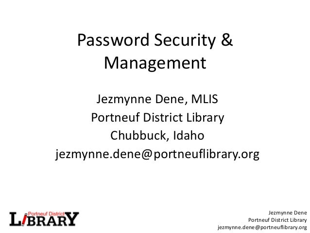 NCompass Live: Password Management & Security