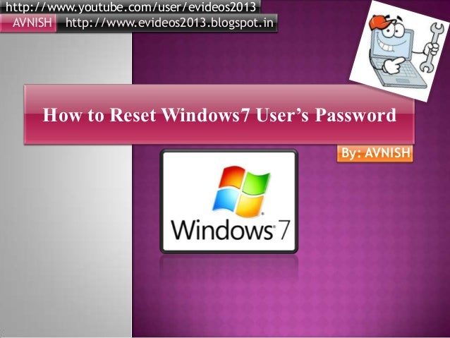 Password reset
