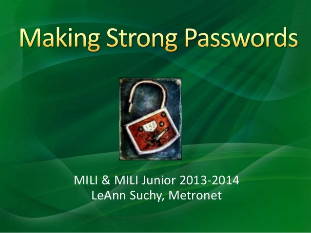 MILI & MILI Junior 2013-2014 LeAnn Suchy, Metronet