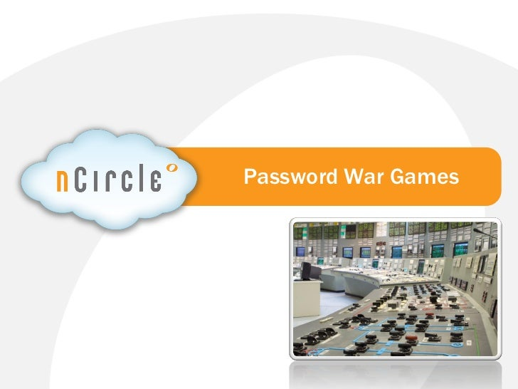 Password War Games Webinar