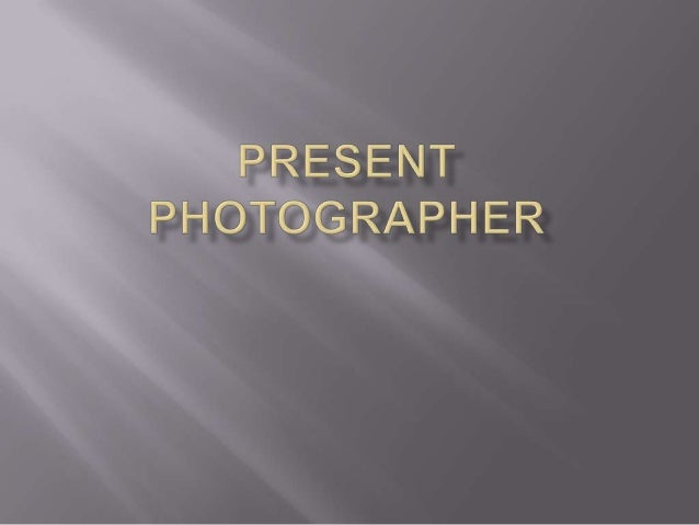 Past and present photogrpaher