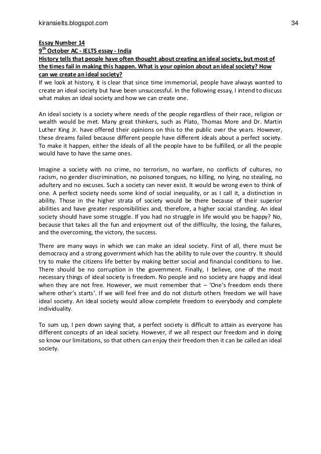 Community Service Essay Ielts