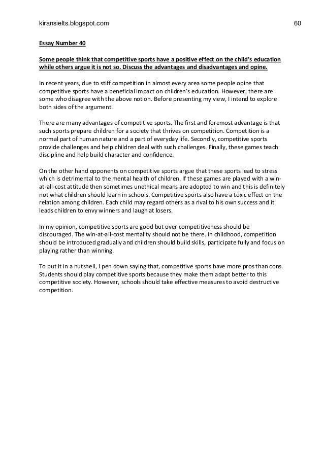 Merit and demerit of internet short essay length