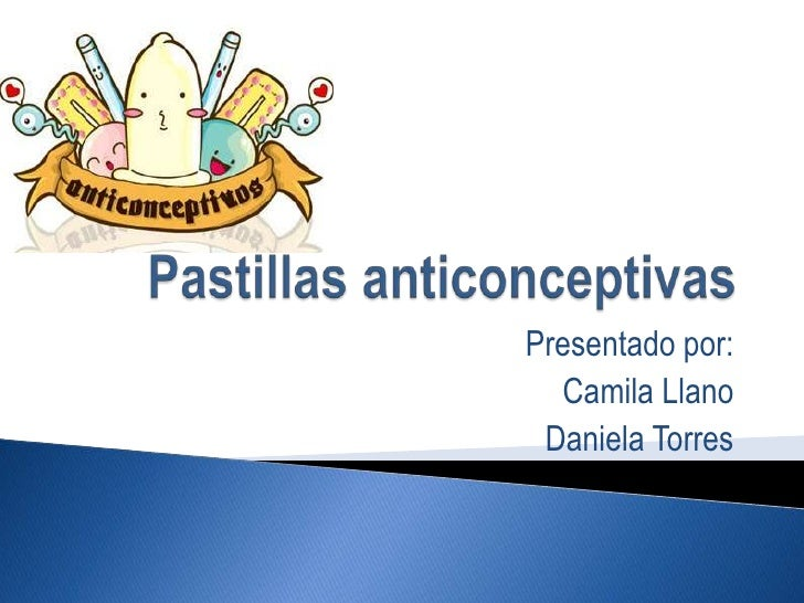 Pastillas anticonceptivas