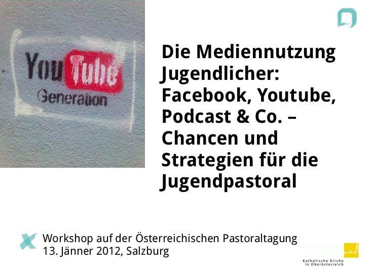 WS Social Media auf der Österreichischen Pastoraltagung 2012