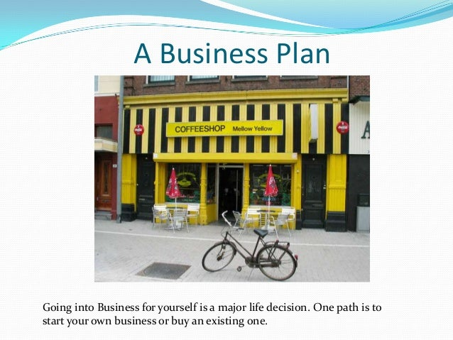 Existing business plan