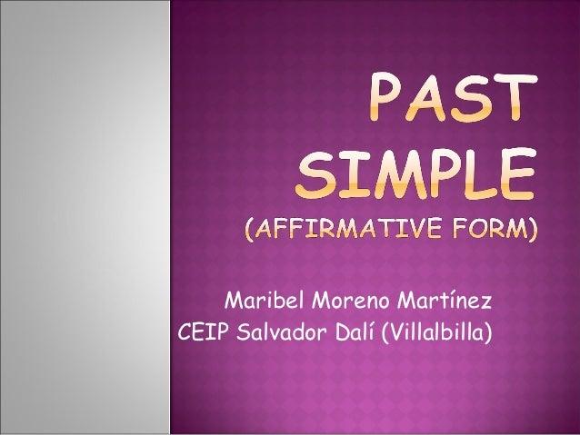 Past simple affirmative