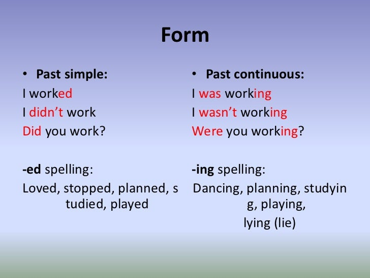 Past And Present Tense Related Keywords u0026 Suggestions ...