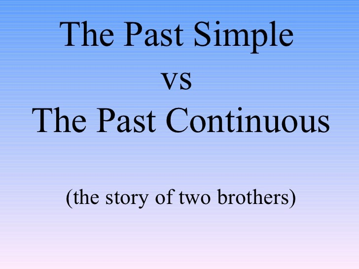 simple past tense and past continuous tense exercises pdf