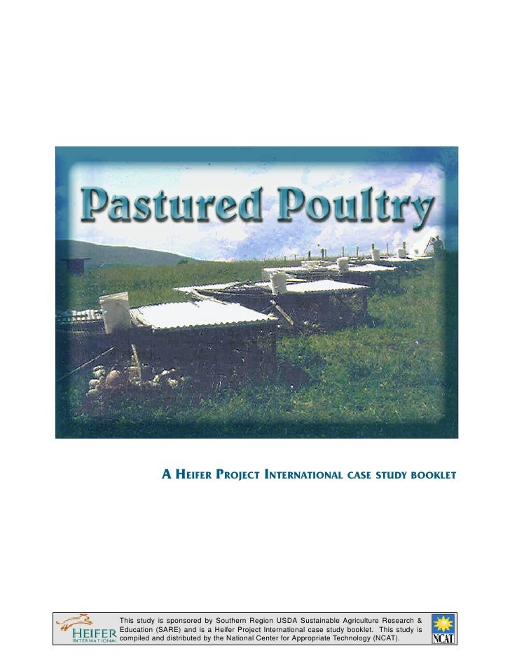 Pastured Poultry: An HI Case Study Booklet