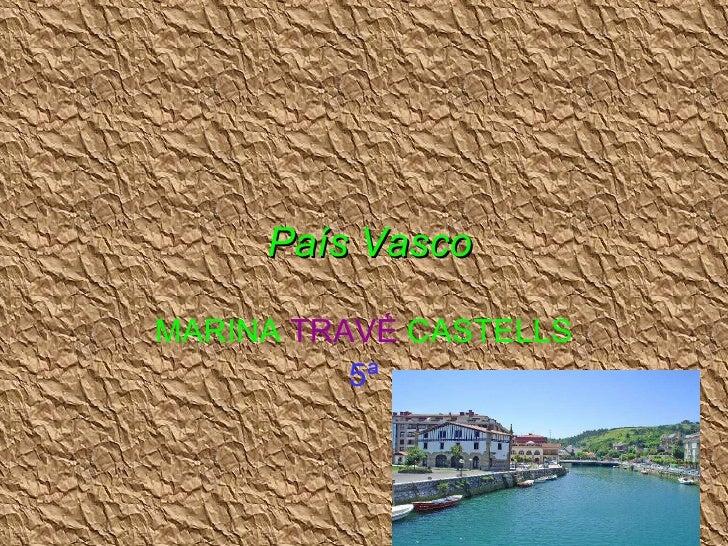 País vasco marina