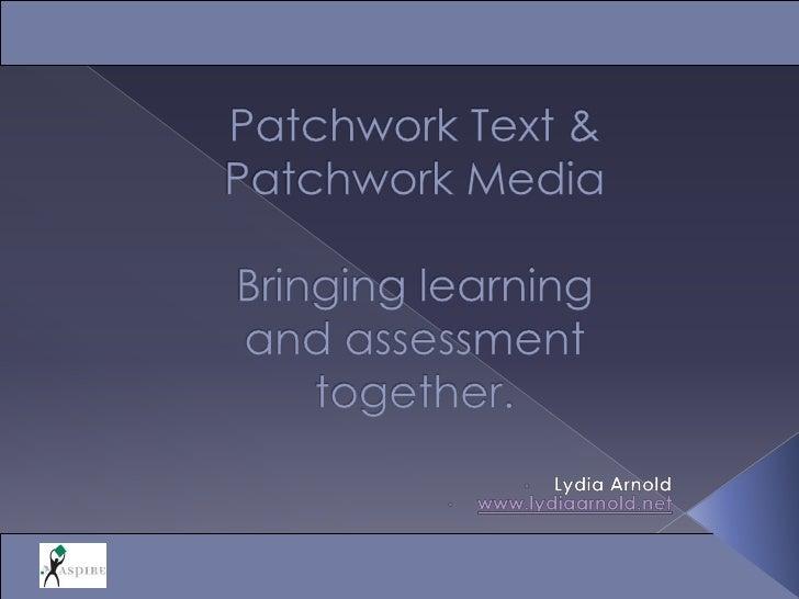 Patchwork approaches: Harper Adams 2009