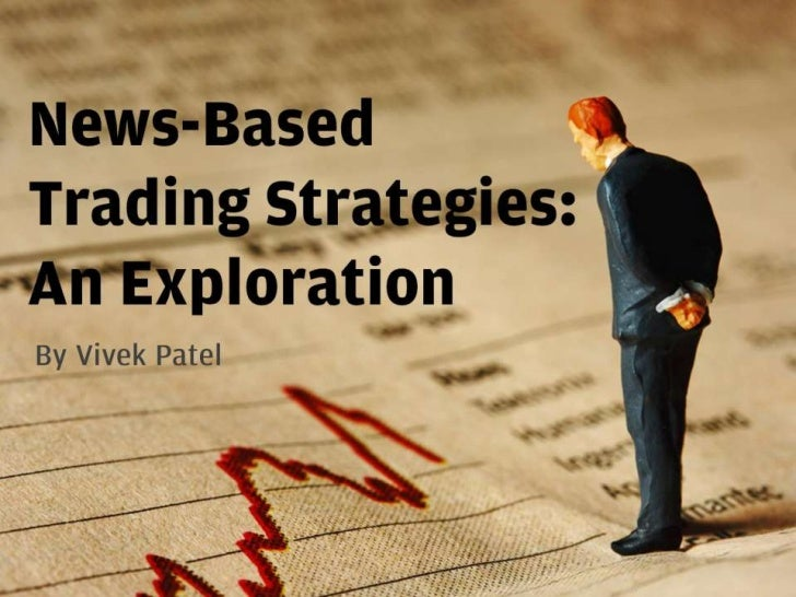 News-Based Trading: An Exploration