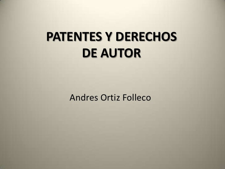 Patentes unimayor